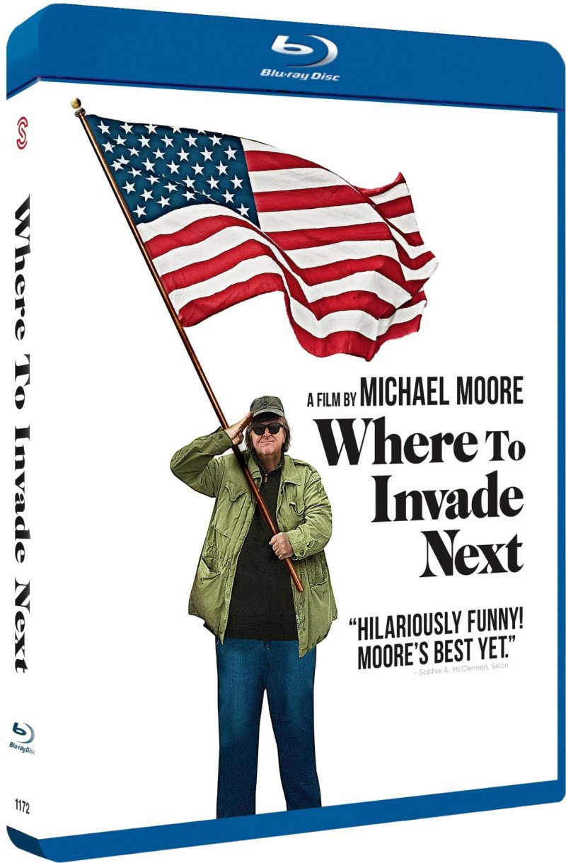 Image of   Where To Invade Next - Blu-Ray