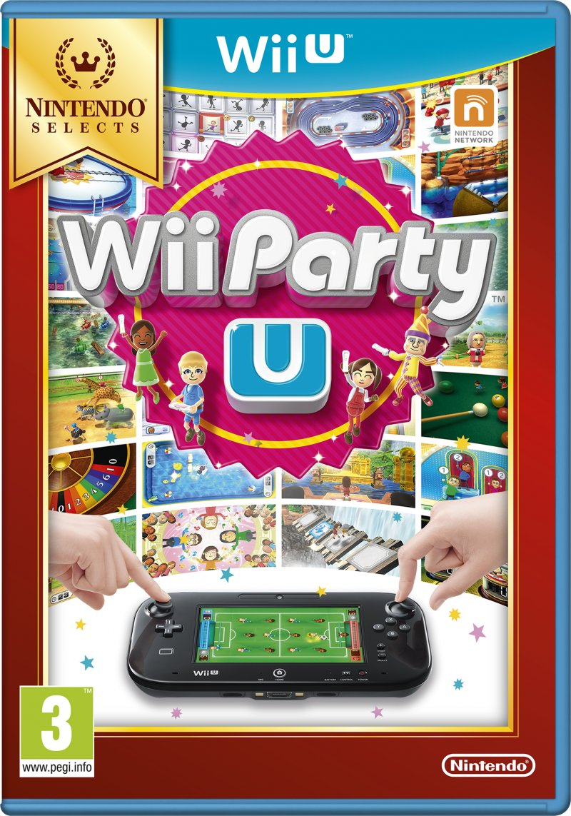 Image of   Wii Party U (selects) - Wii U