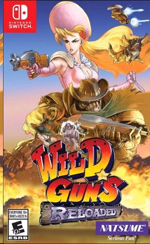 Image of   Wild Guns: Reloaded - Nintendo Switch