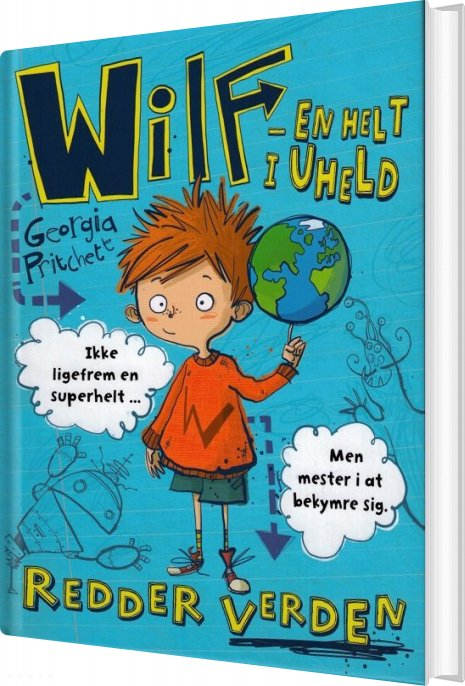 Wilf 1 - Redder Verden  - Georgia Pritchett - Bog