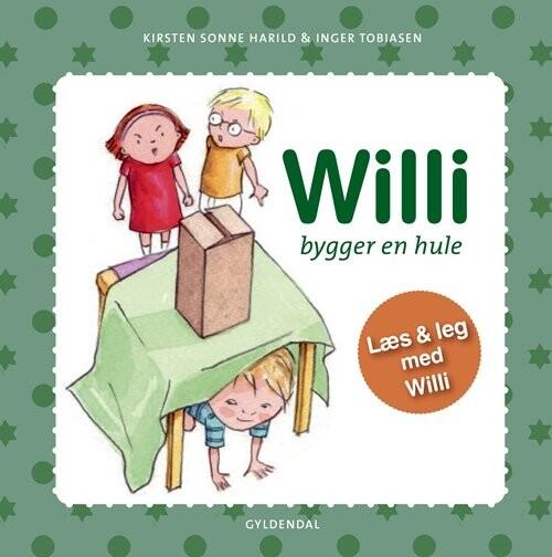 Image of   Willi Bygger En Hule - Inger Tobiasen - Bog