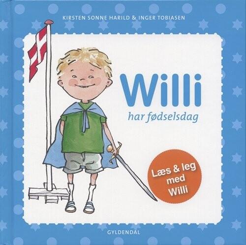 Image of   Willi Har Fødselsdag - Kirsten Sonne Harild - Bog