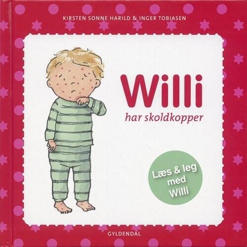 Image of   Willi Har Skoldkopper - Kirsten Sonne Harild - Bog