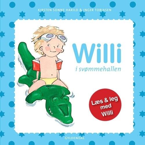 Image of   Willi I Svømmehallen - Kirsten Sonne Harild - Bog