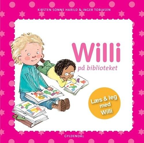 Image of   Willi På Biblioteket - Kirsten Sonne Harild - Bog
