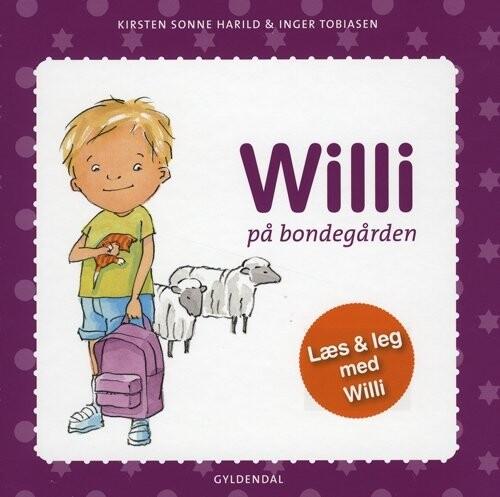 Image of   Willi På Bondegården - Kirsten Sonne Harild - Bog