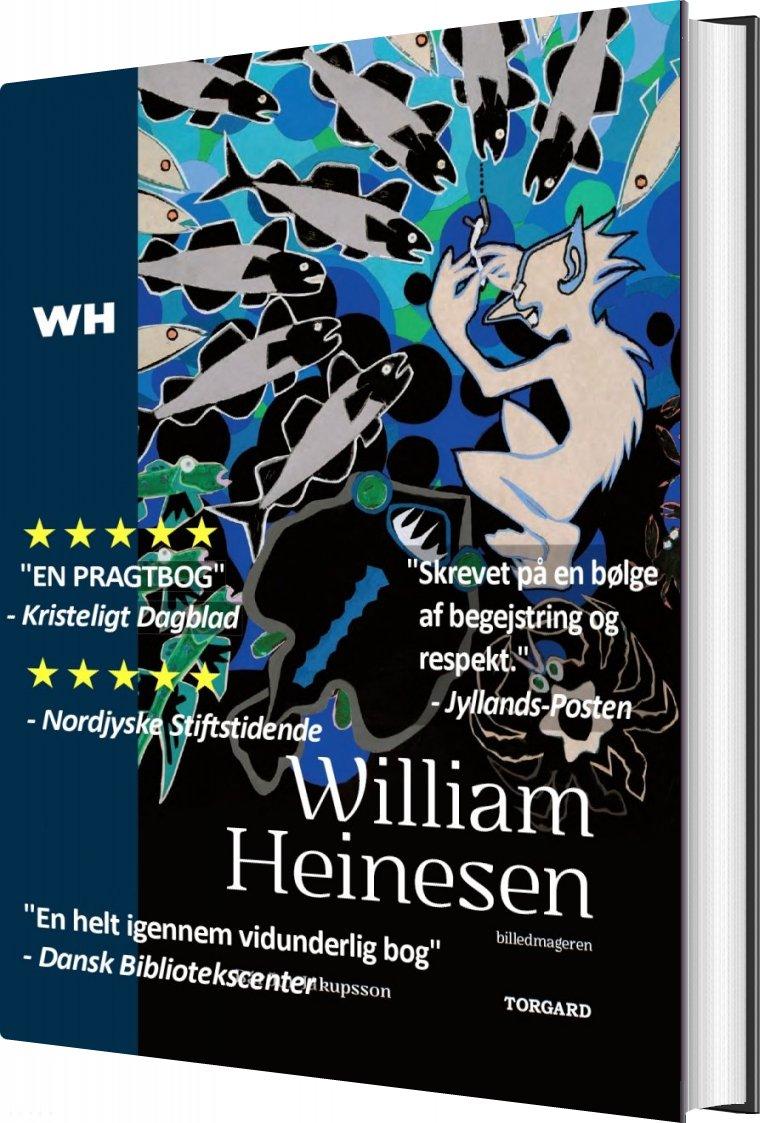 William Heinesen - Billedkunstneren - Bárður Jákupsson - Bog