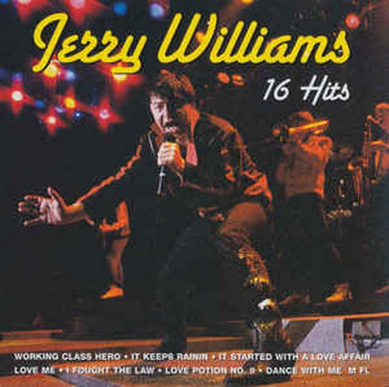 Jerry Williams - 16 Hits - CD