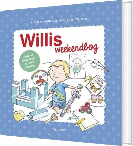 Image of   Willis Weekendbog - Inger Tobiasen - Bog