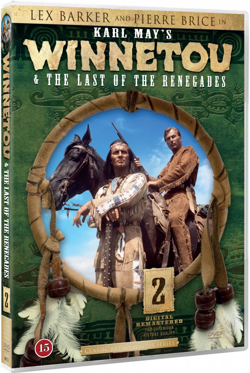 Winnetou 2 - The Last Of The Renegades - DVD - Film