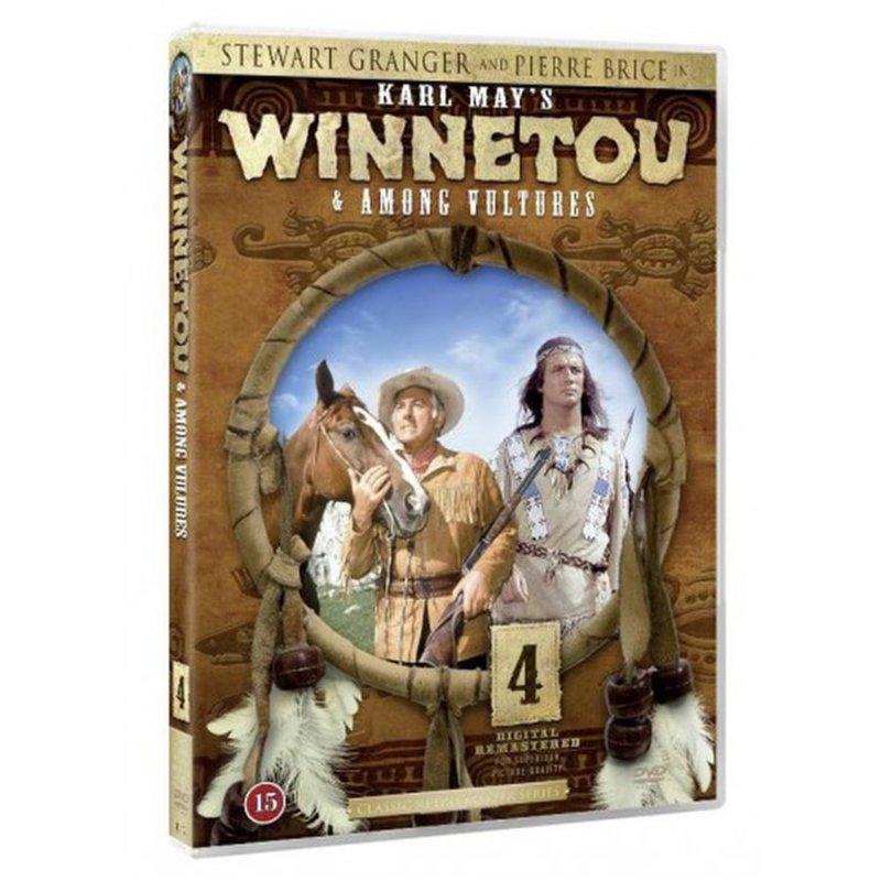 Image of   Winnetou Among Vultures / Winnetou Og Vestens Sjakaler - DVD - Film