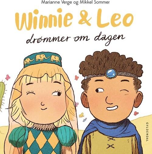 Winnie & Leo Drømmer Om Dagen - Marianne Verge - Bog