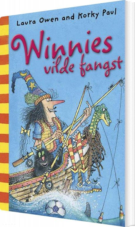Image of   Winnies Vilde Fangst - Laura Owen - Bog