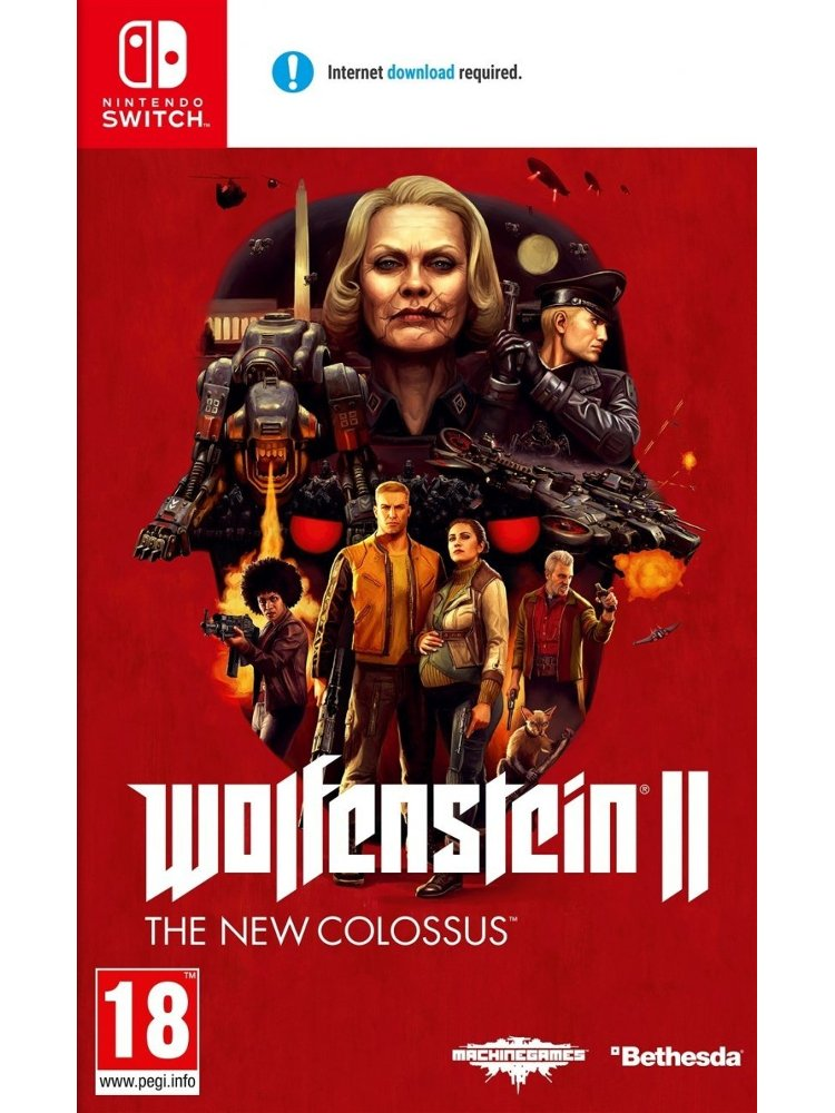 Image of   Wolfenstein 2: The New Colossus - Nintendo Switch