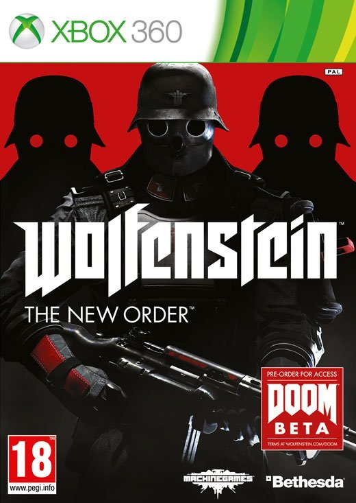 Image of   Wolfenstein: The New Order - Xbox 360