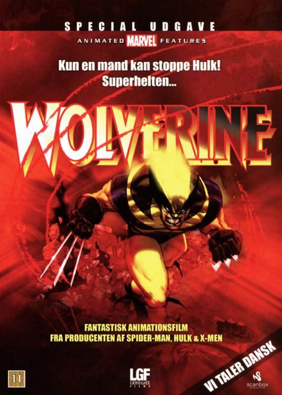 Billede af Hulk Vs. Wolverine // Hulk Vs. Thor - DVD - Film