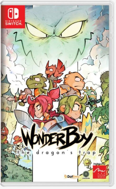 Image of   Wonder Boy: The Dragons Trap (import) - Nintendo Switch
