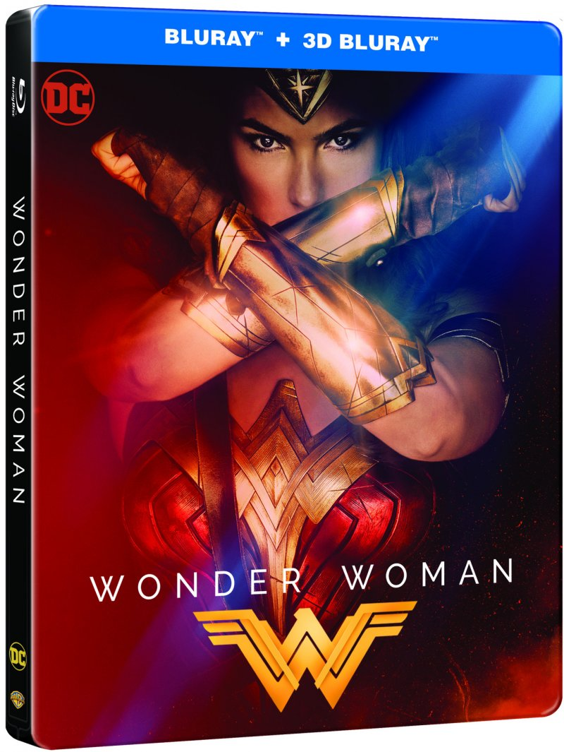 Image of   Wonder Woman - 2017 - Steelbook - 3D Blu-Ray
