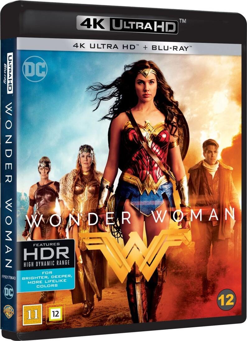 Image of   Wonder Woman - 2017 - 4K Blu-Ray