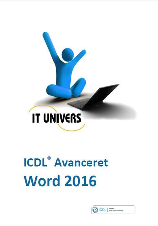 Image of   Word 2016 - Icdl Avanceret - Charlotte Cederstrøm - Bog