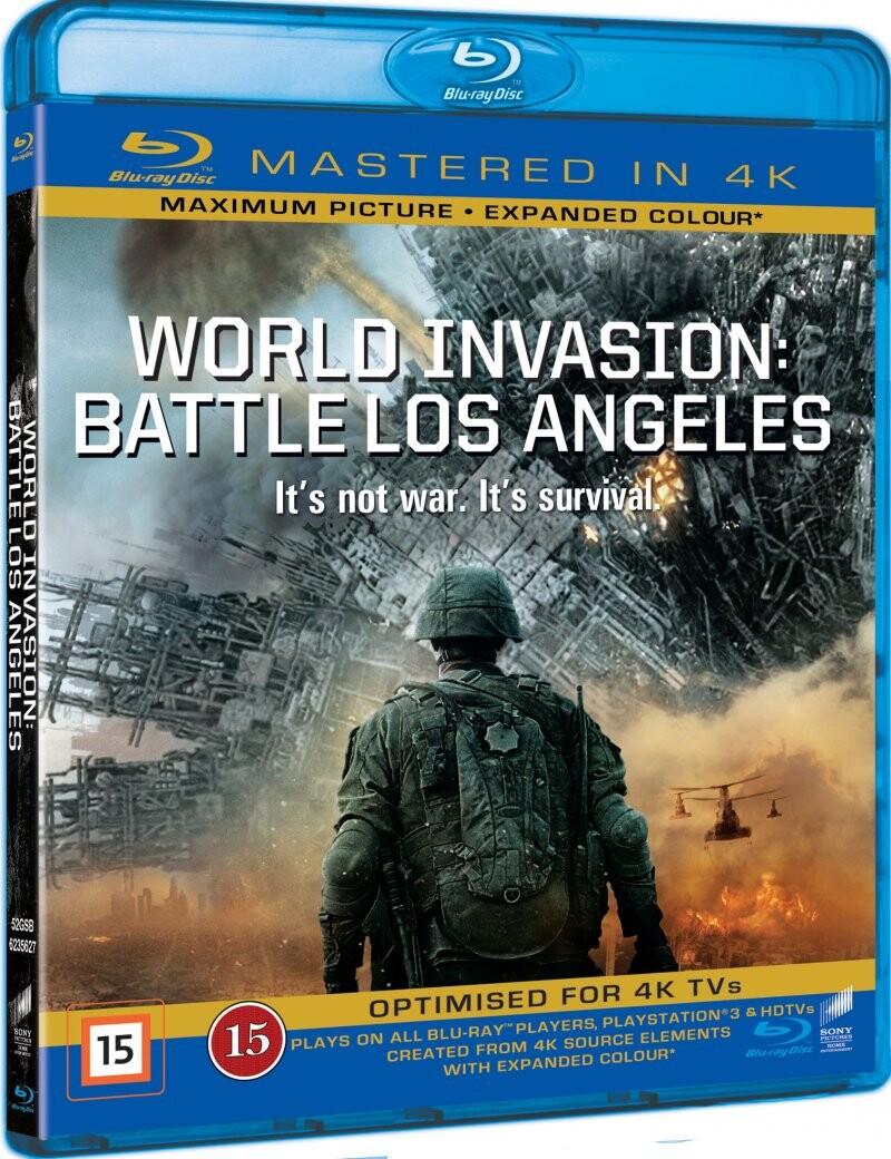 Billede af World Invasion: Battle Los Angeles - Blu-Ray