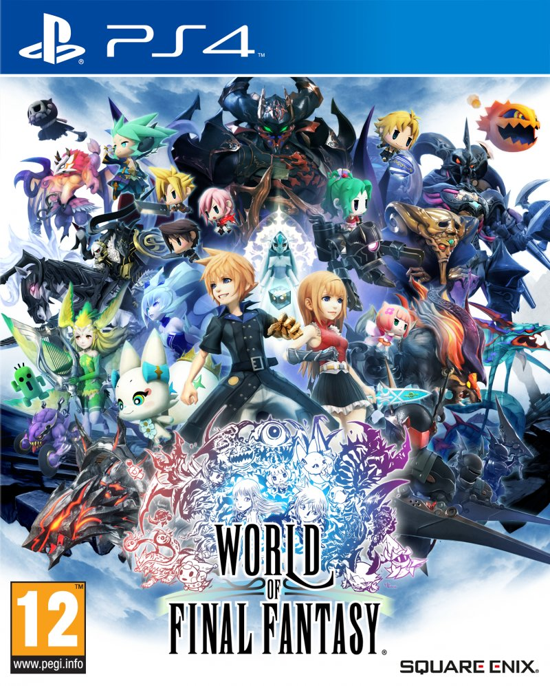 Image of   World Of Final Fantasy - PS4