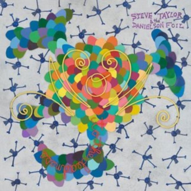 Steve Taylor & The Danielson Foil - Wow To The Deadness - Marbled Color - Vinyl / LP