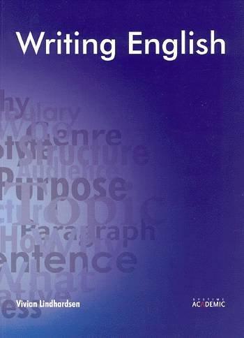 Image of   Writing English - Vivian Lindhardsen - Bog