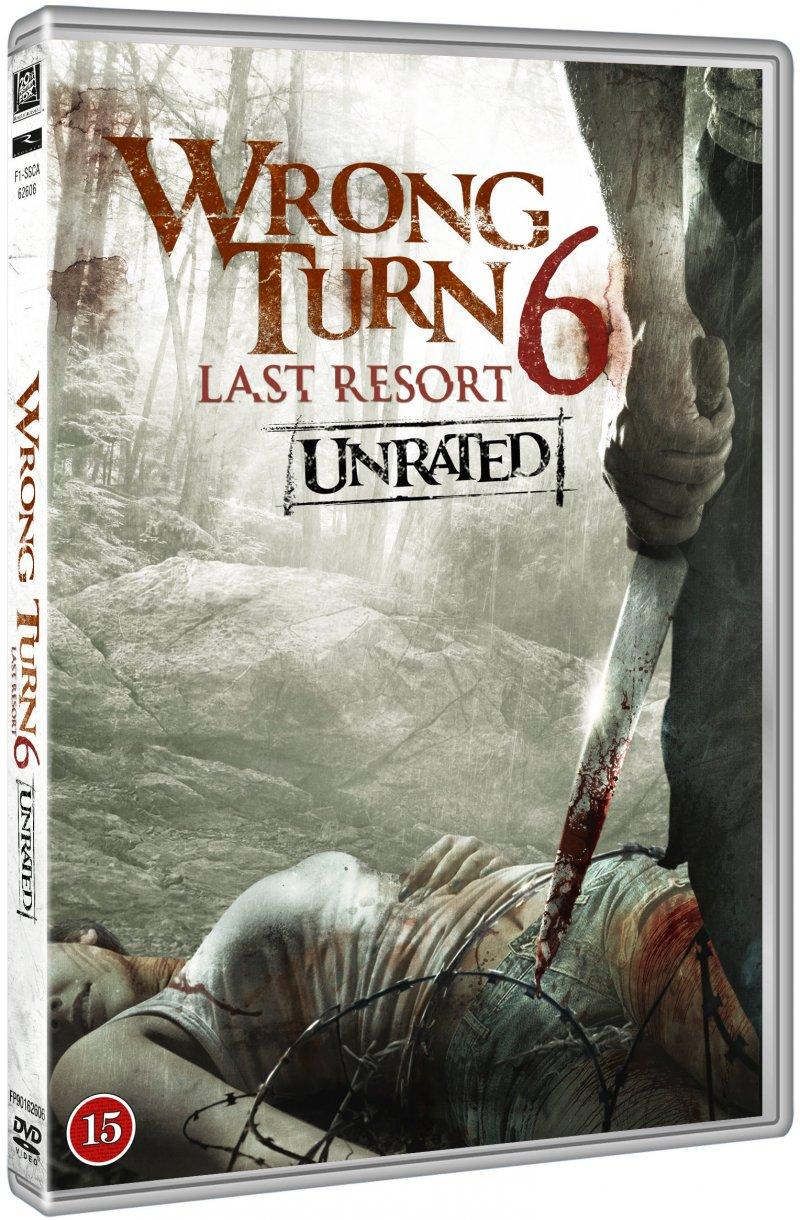 Image of   Wrong Turn 6 - Last Resort - DVD - Film