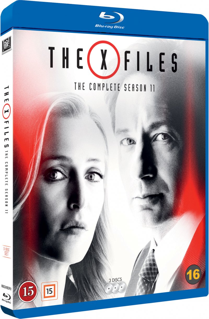 Image of   X-files - Sæson 11 - Blu-Ray - Tv-serie