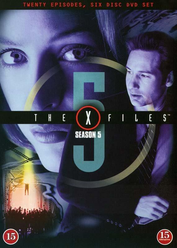 The X-files - Sæson 5 - DVD - Tv-serie