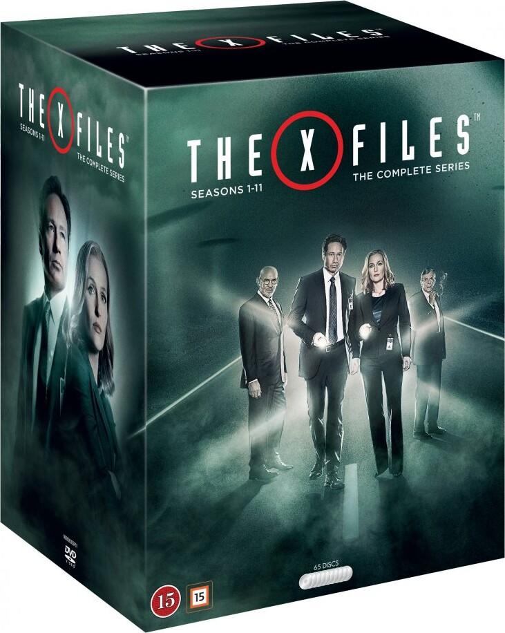 Strengt Fortroligt - Sæson 1-11 - Den Komplette Serie - DVD - Tv-serie