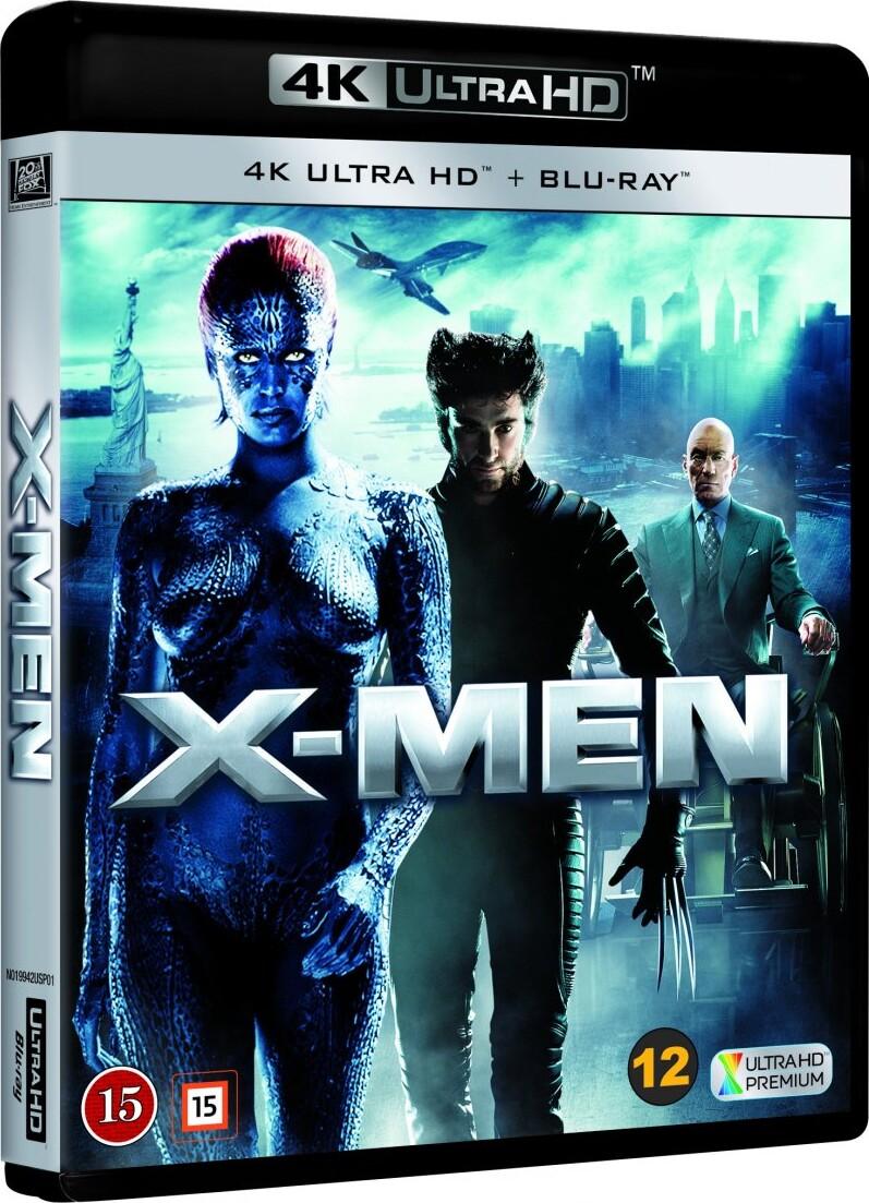 Image of   X-men 1 - 4K Blu-Ray
