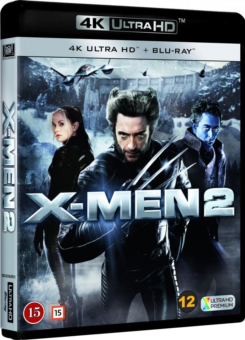 Image of   X-men 2 - 4K Blu-Ray