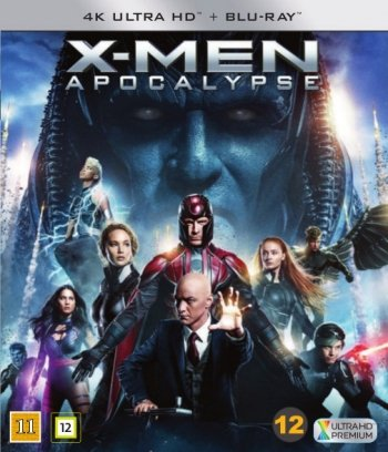 Image of   X-men: Apocalypse - 4K Blu-Ray
