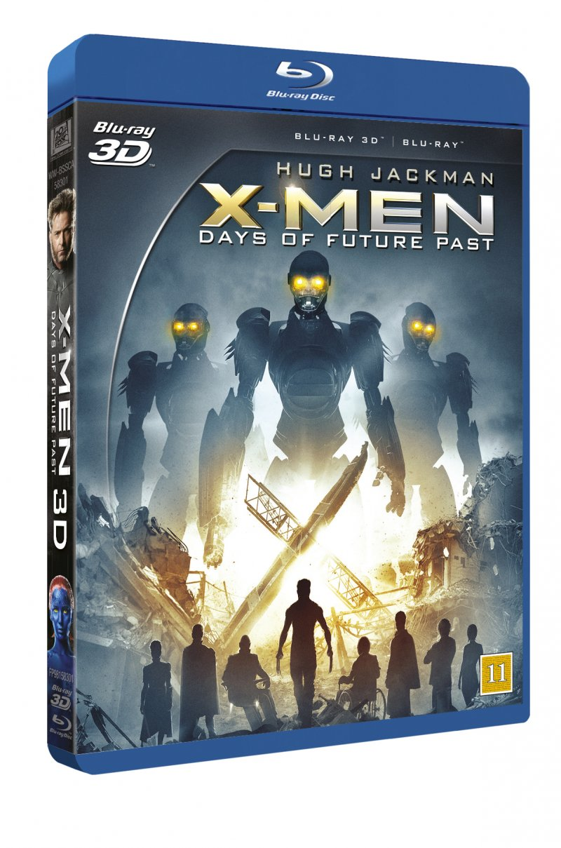 Image of   X-men: Days Of Future Past - 3d - 3D Blu-Ray