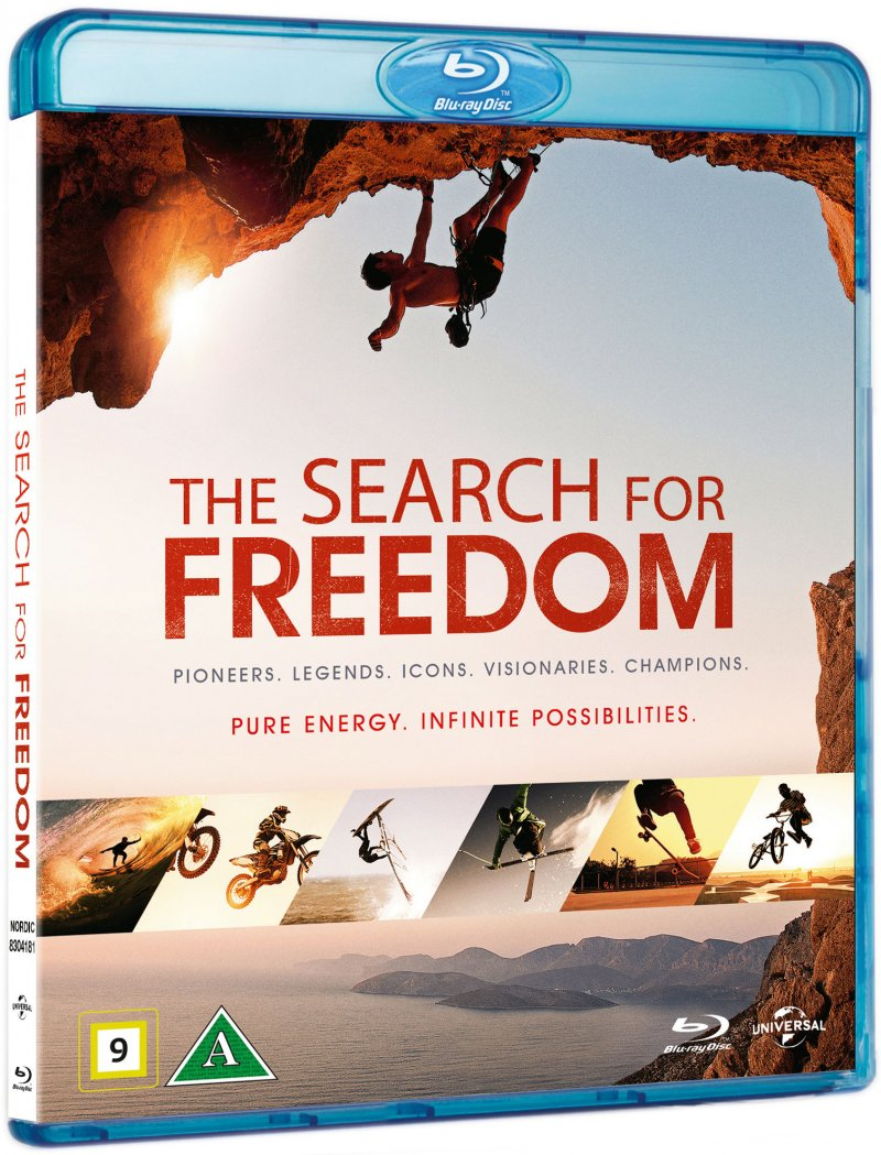 Image of   X: The Search For Freedom - Blu-Ray