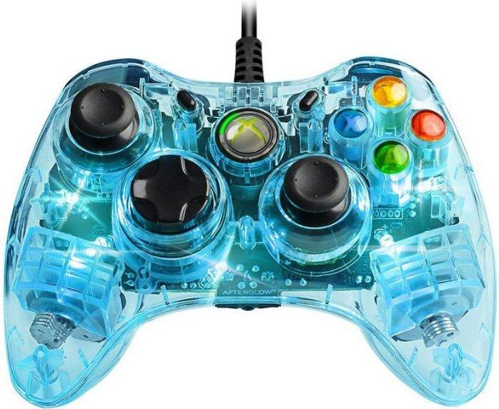 Xbox 360 Afterglow Controller - Blå