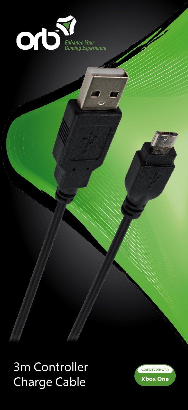 Billede af Orb - Oplader Til Xbox One Controller - 3 Meter