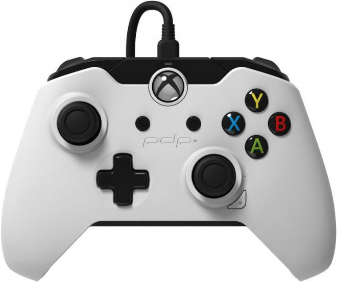 Image of   Xbox One Wired Controller - Hvid