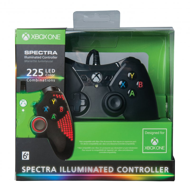 Image of   Xbox One Spectra Pro Series Controller Med Kabel Og Lys
