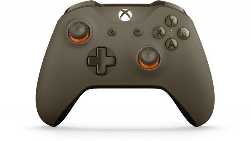 Billede af Xbox One Trådløs Controller Limited Edition - Military Green