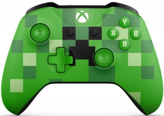 Billede af Xbox One Trådløs Controller Limited Edition - Minecraft Creeper