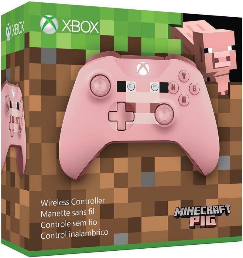Billede af Xbox One Controller Limited Edition - Minecraft Pig