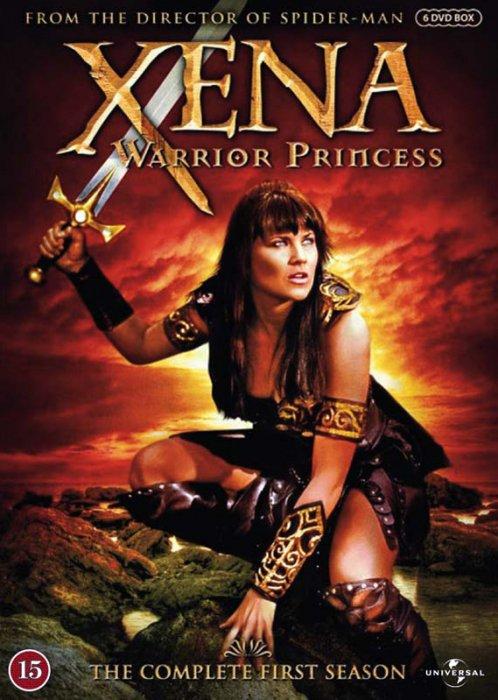 Billede af Xena: Warrior Princess - Sæson 1 - DVD - Tv-serie