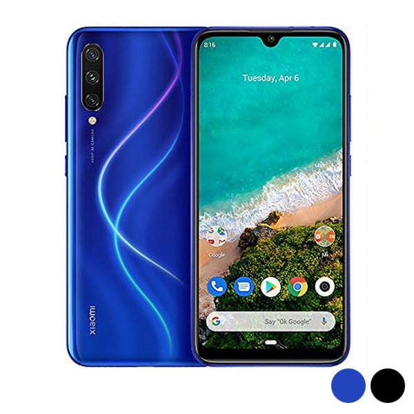"Image of   Xiaomi Mi A3 Smartphone - 6,08"" Display - 48mp Kamera - 128gb Plads - Blå"