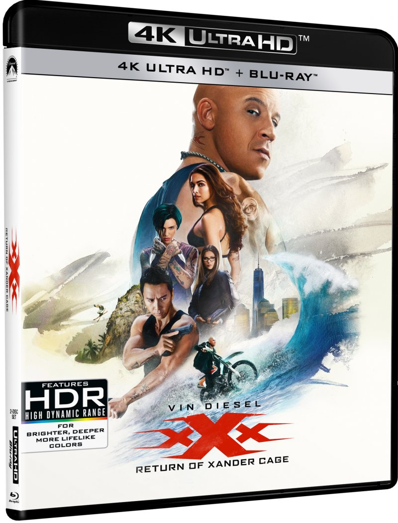 Billede af Xxx - The Return Of Xander Cage - 4K Blu-Ray