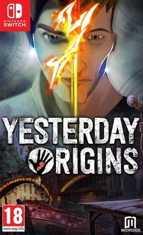 Image of   Yesterday Origins Replay - Code In A Box - Nintendo Switch