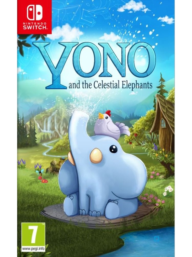 Image of   Yono And The Celestial Elephants - Nintendo Switch