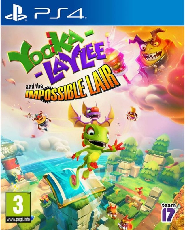 Image of   Yooka-laylee And The Impossible Lair - PS4